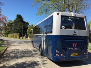 34 seat luxury mini-coach hire